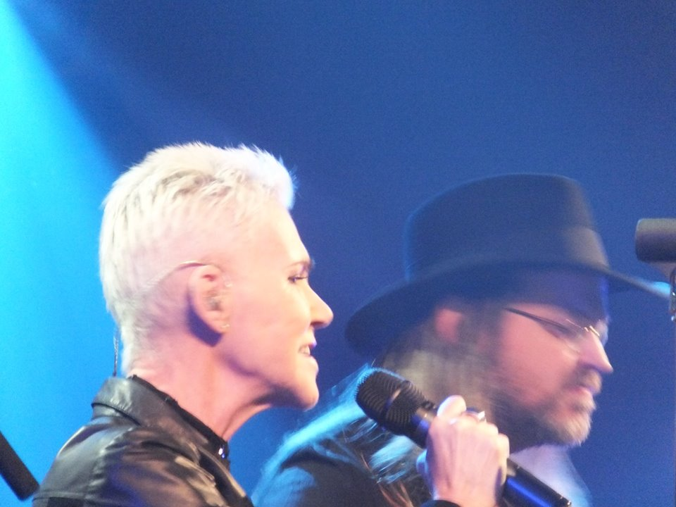 The Daily Roxette shared Paul Belben's album: Marie Fredriksson - Göteborg Konserthus 15 March 2014.