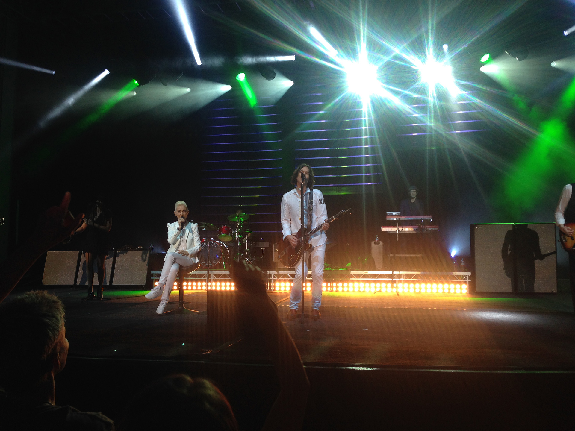 Roxette in Romania, photo by Christian D.