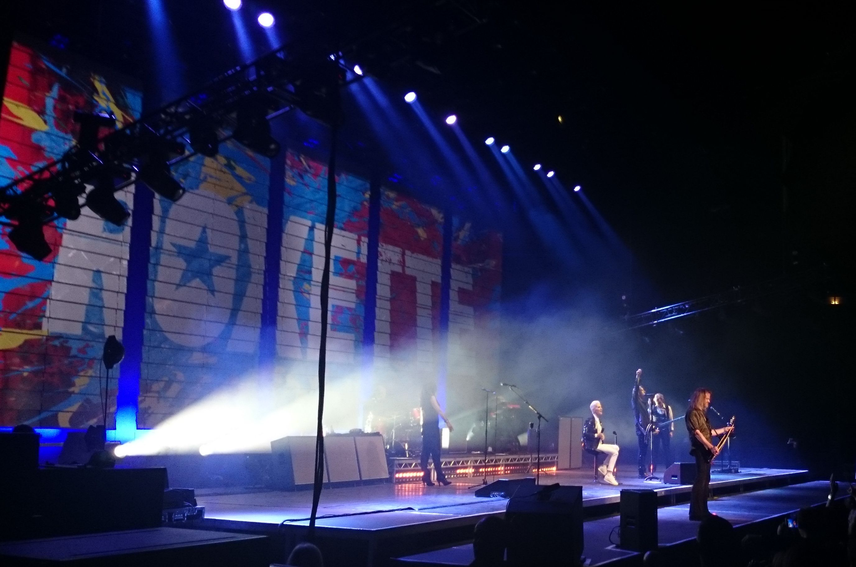 Roxette in Prague, photo by Valeria