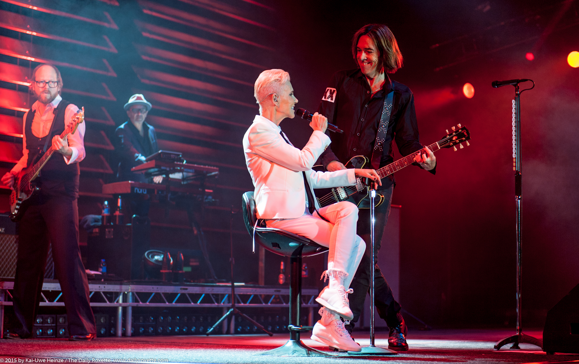 Roxette in Berlin 2015, photo by Kai-Uwe Heinze for The Daily Roxette