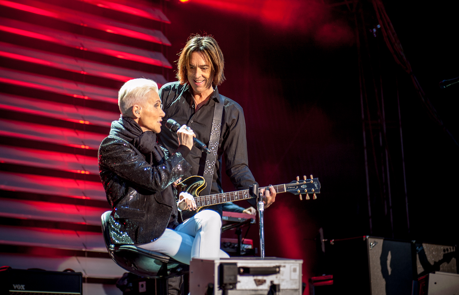 Roxette in Dresden 2015, photo by Kai-Uwe Heinze for The Daily Roxette, click to enlarge