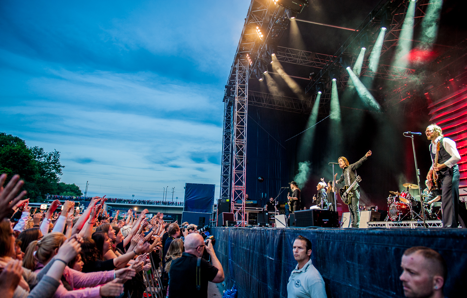 Roxette in Dresden 2015, photo by Kai-Uwe Heinze for The Daily Roxette